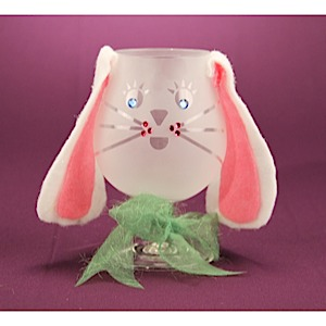 Easter Bunny Candy Goblet