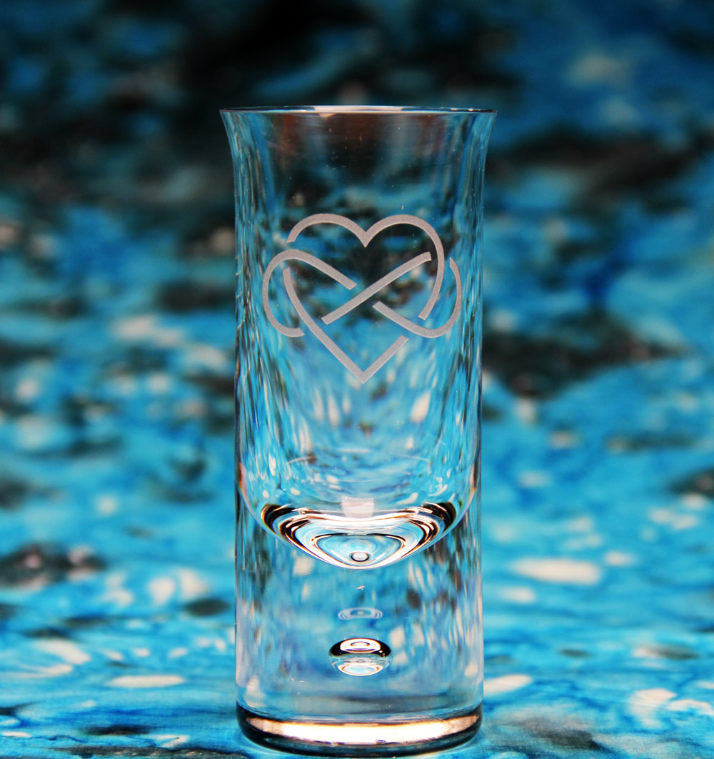 Celtic Heart Shot Glass