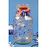 Stars & Stripes Candle Jar