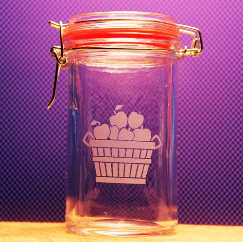 Apple Basket Canister