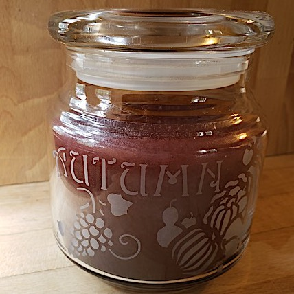 Autumn Candle Jar