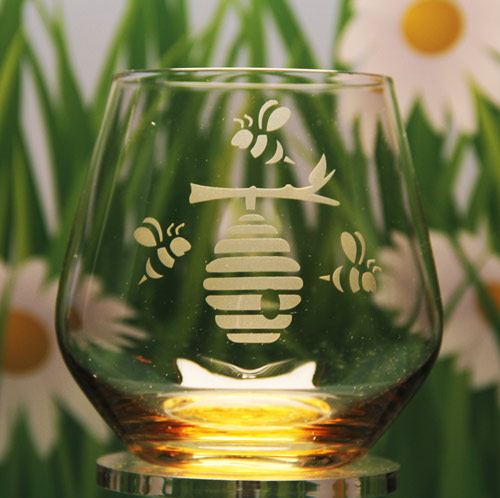 Beehive Stemless Glass