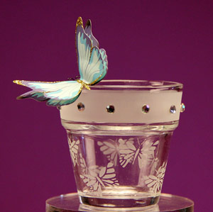 Butterfly Mini Flower Pot