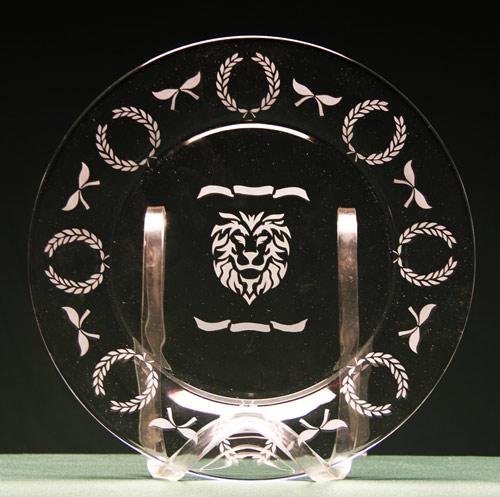 Lion Head Plate
