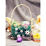 Etched Easter Basket