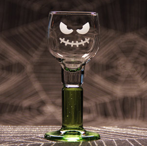 Evil Grin Cordial Glass