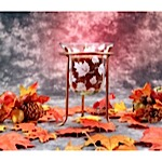 Autumn Leaves Candle Holder