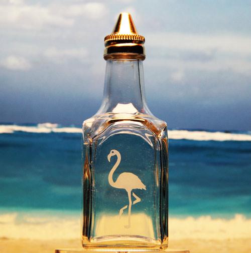 Flamingo Vinegar Bottle
