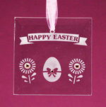 Happy Easter Suncatcher