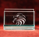 Eagle Head Business Card Holder