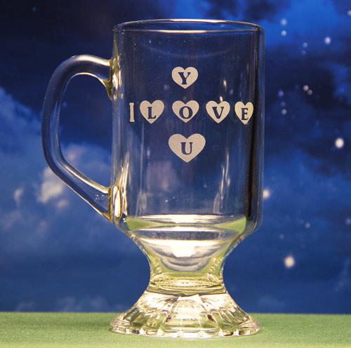I Love You Heart Mug