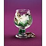 St Pat's Brandy Glass Favor