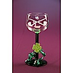 Leprechaun Port Wine Glass