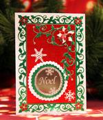 Noel Snowflake Card
