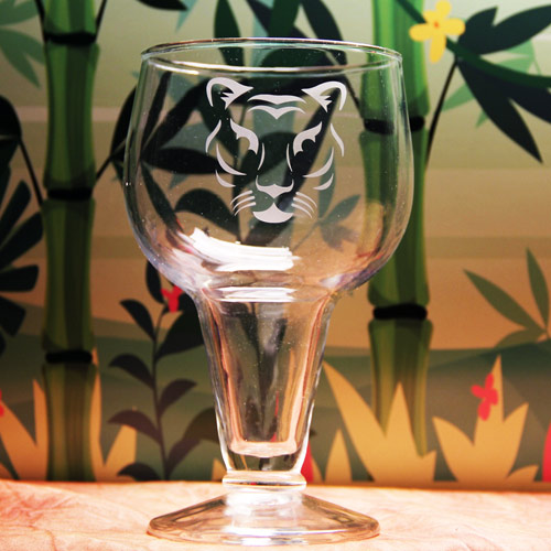 Panther Beer Glass