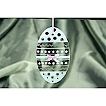 Zig Zag Easter Egg Ornament