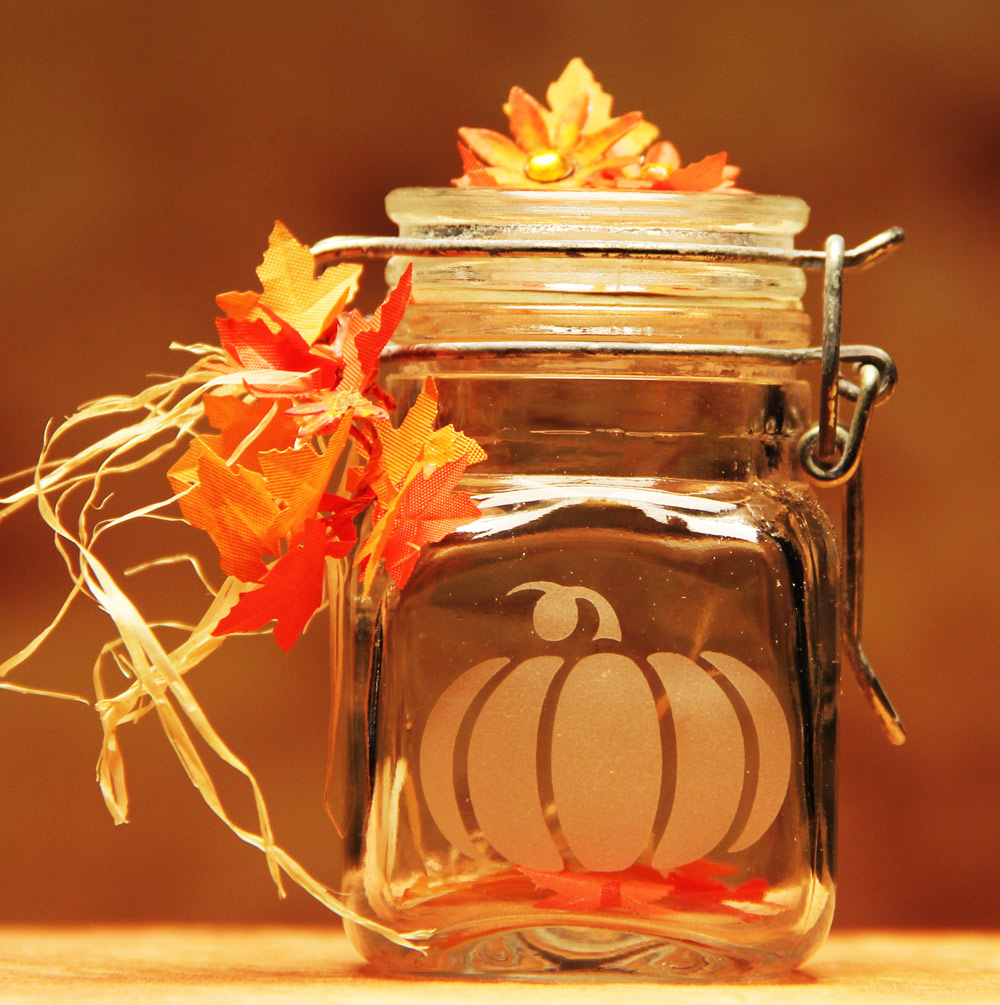 Pumpkin Canning Jar