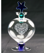 Heart and Star Bottle