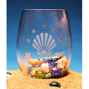 Seashells Tealight