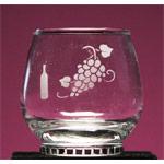 Grape Cluster Liquor Glass