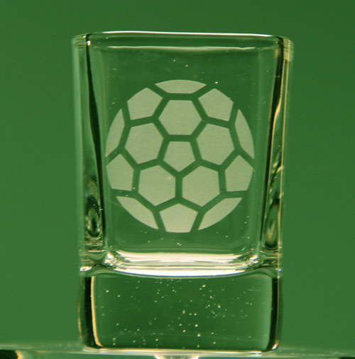 Soccer Ball Shot Glass