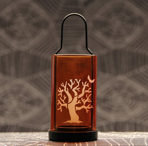 Spooky Tree Tealight Holder