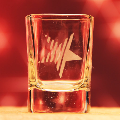 Stars N Stripes Shot Glass
