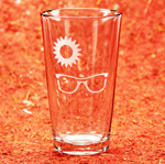 Sunglass Tea Glass