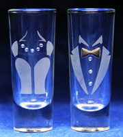 Formal Attire Shot Glasses