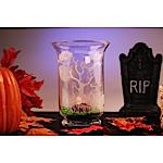 Graveyard Halloween Vase