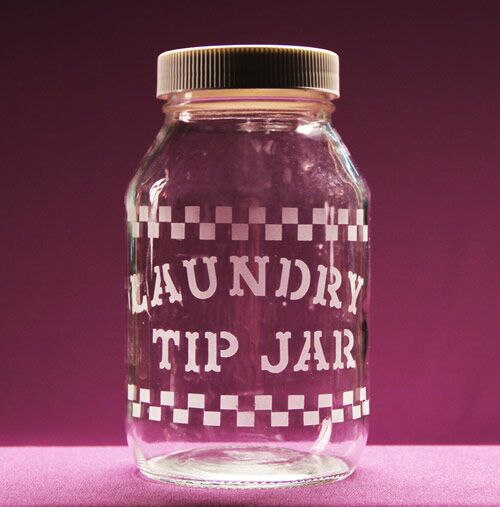 Laundry Tip Jar
