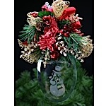Hanging Christmas Bevel Bouquet