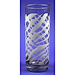 Zebra Beverage Glass