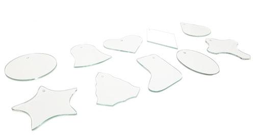 Flat Glass Ornaments