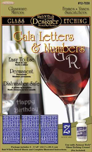 12-7030 - Gala letters & Numbers