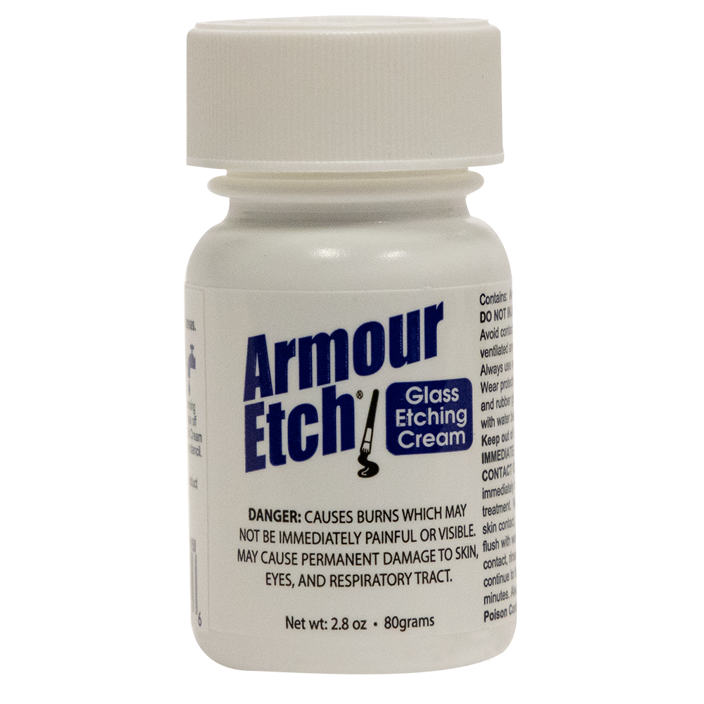 15-0150 - 2.8 oz  Armour Etch Glass Etching Cream