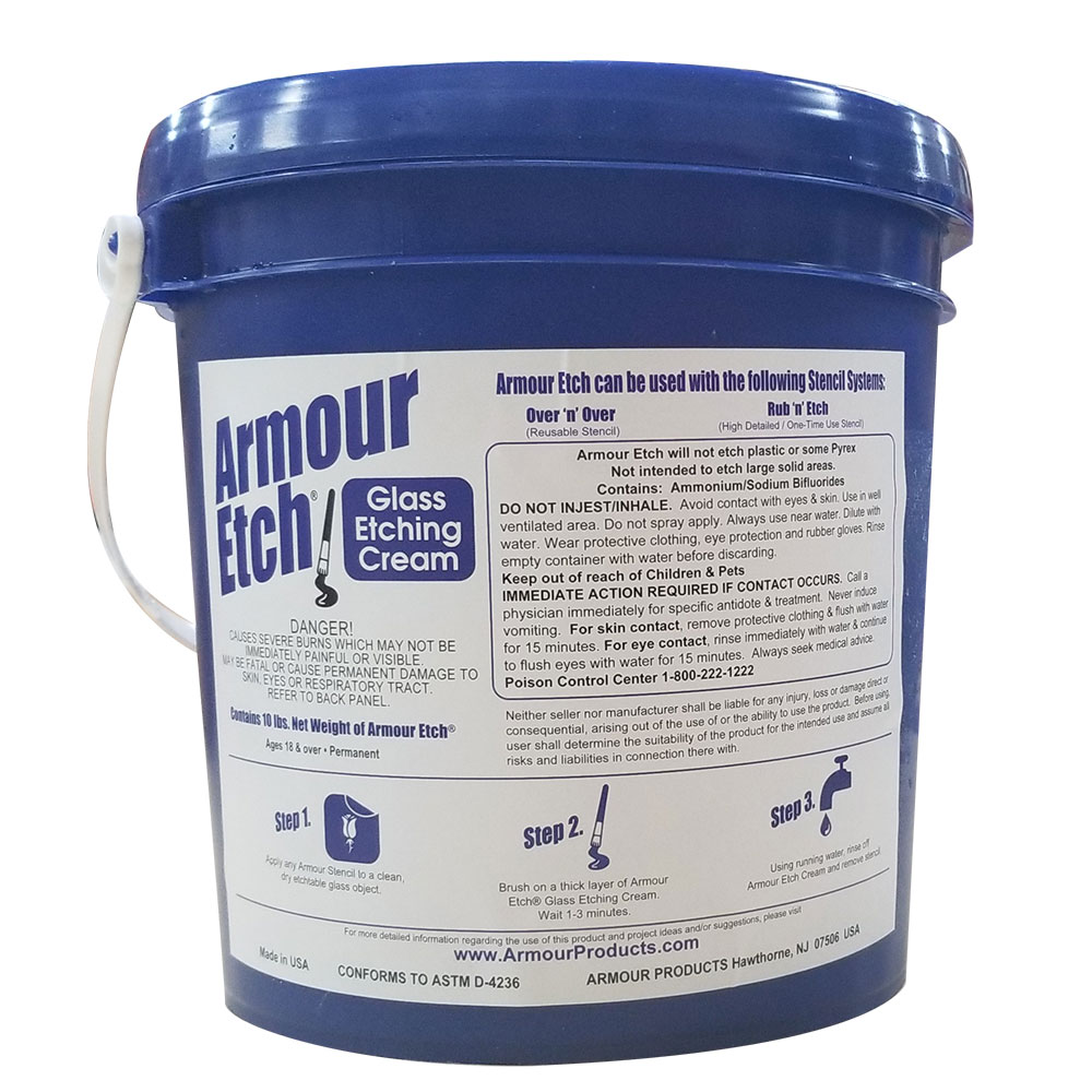 15-0260 - 10 lbs Armour Etch Glass Etching Cream