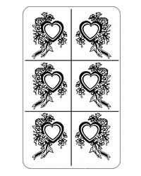 20-0386 - Floral Heart