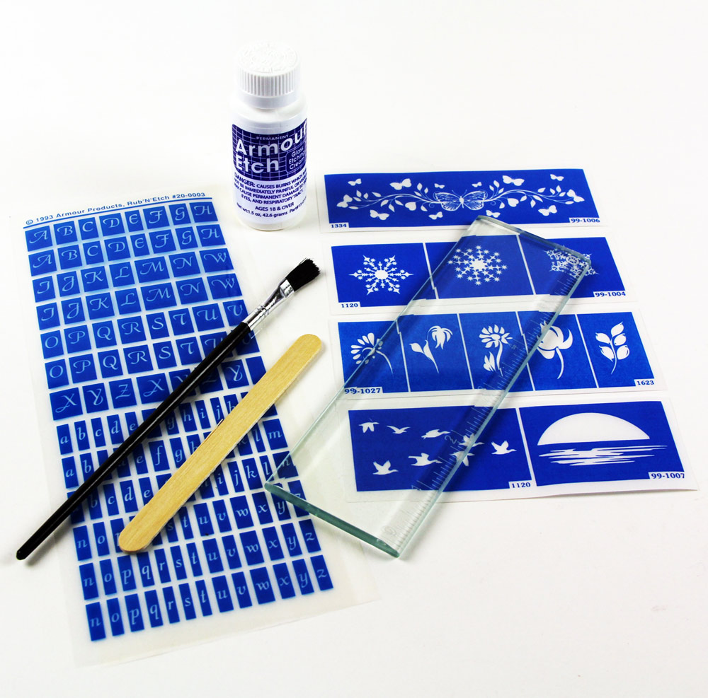 29-2400 - Clear Glass RULER kit