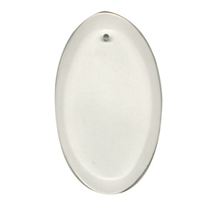 "29-2461 - Clear-3""x5"" Oval Thick Bevel"