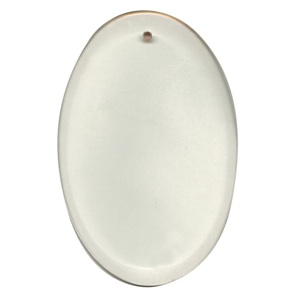 "29-2462 - Clear-4""x6"" Oval Thick Bevel"