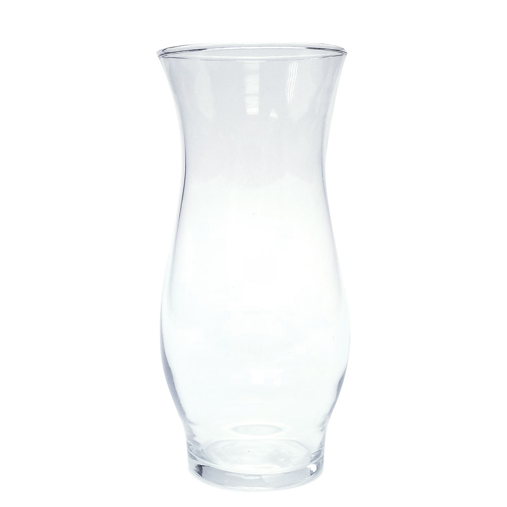 30-2278 - Clear Hurricane Stem Vase 6.5""