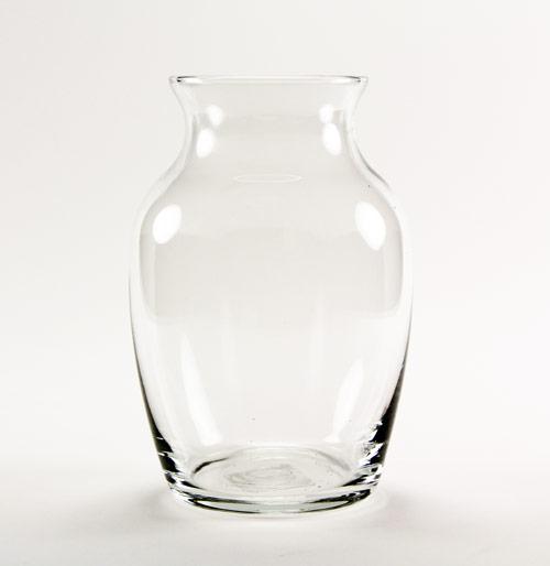 Clear Jardin Glass Vase 7 Etchworld Com Glass Etching Supplies Superstore