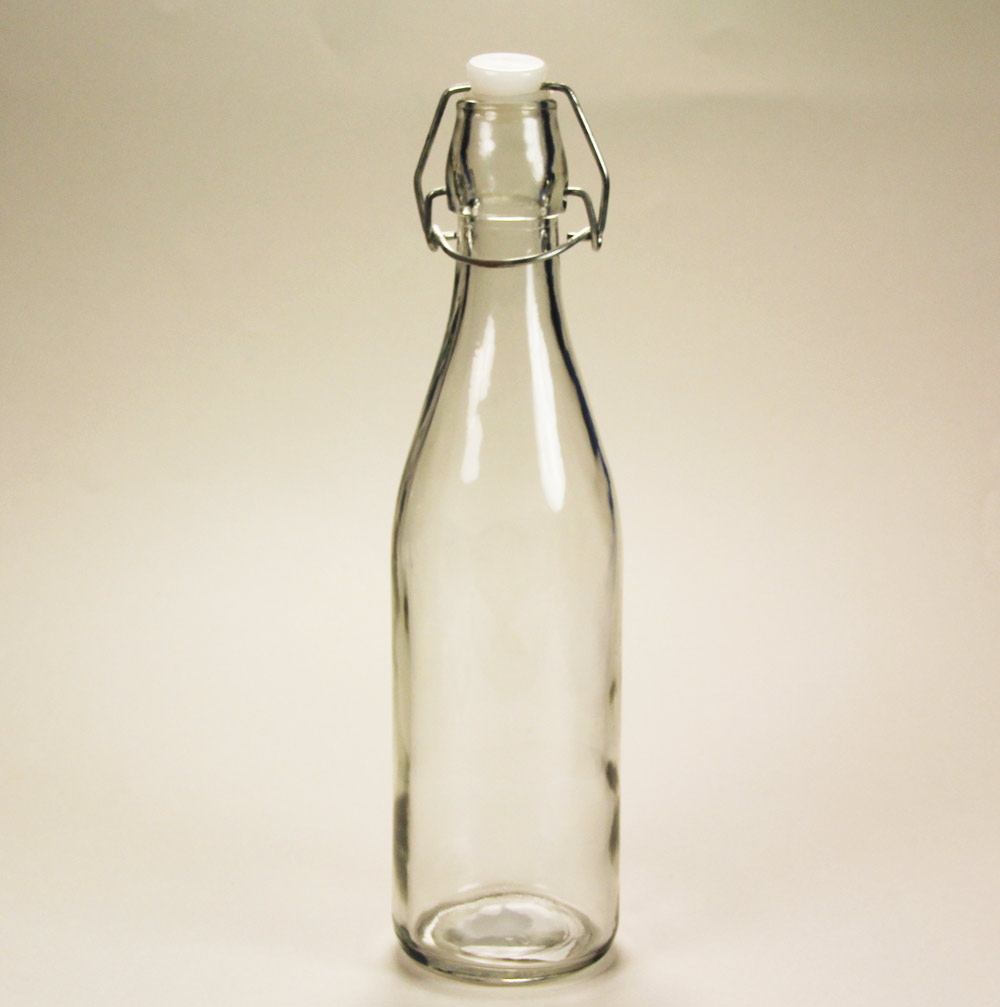 60-7031 - Glass Bottle w cap