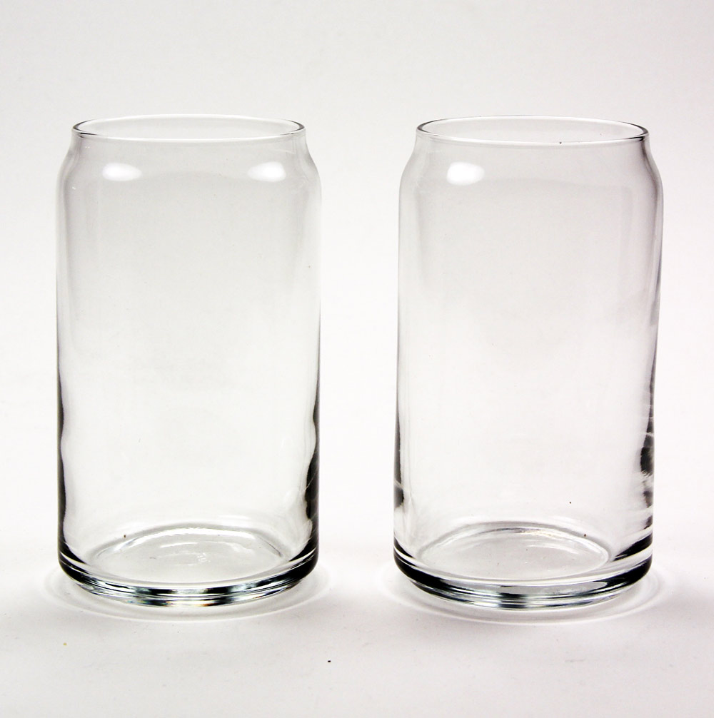 60 7034 beer can glasses set of 2 your glass etching online store. Black Bedroom Furniture Sets. Home Design Ideas