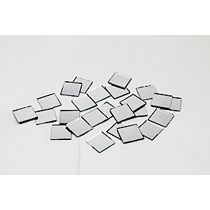 "61-3396 - Square Mirrors 1""  25 pcs"