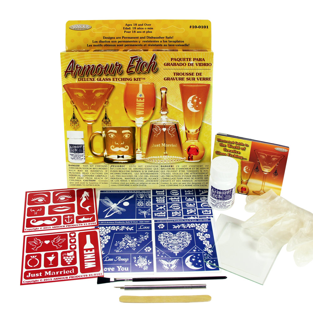 10-0101 - Deluxe Glass Etching Kit