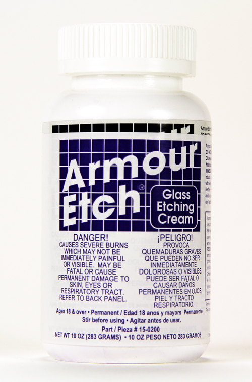 UGLY-0200 - 10 oz Armour Etch Glass Etching Cream