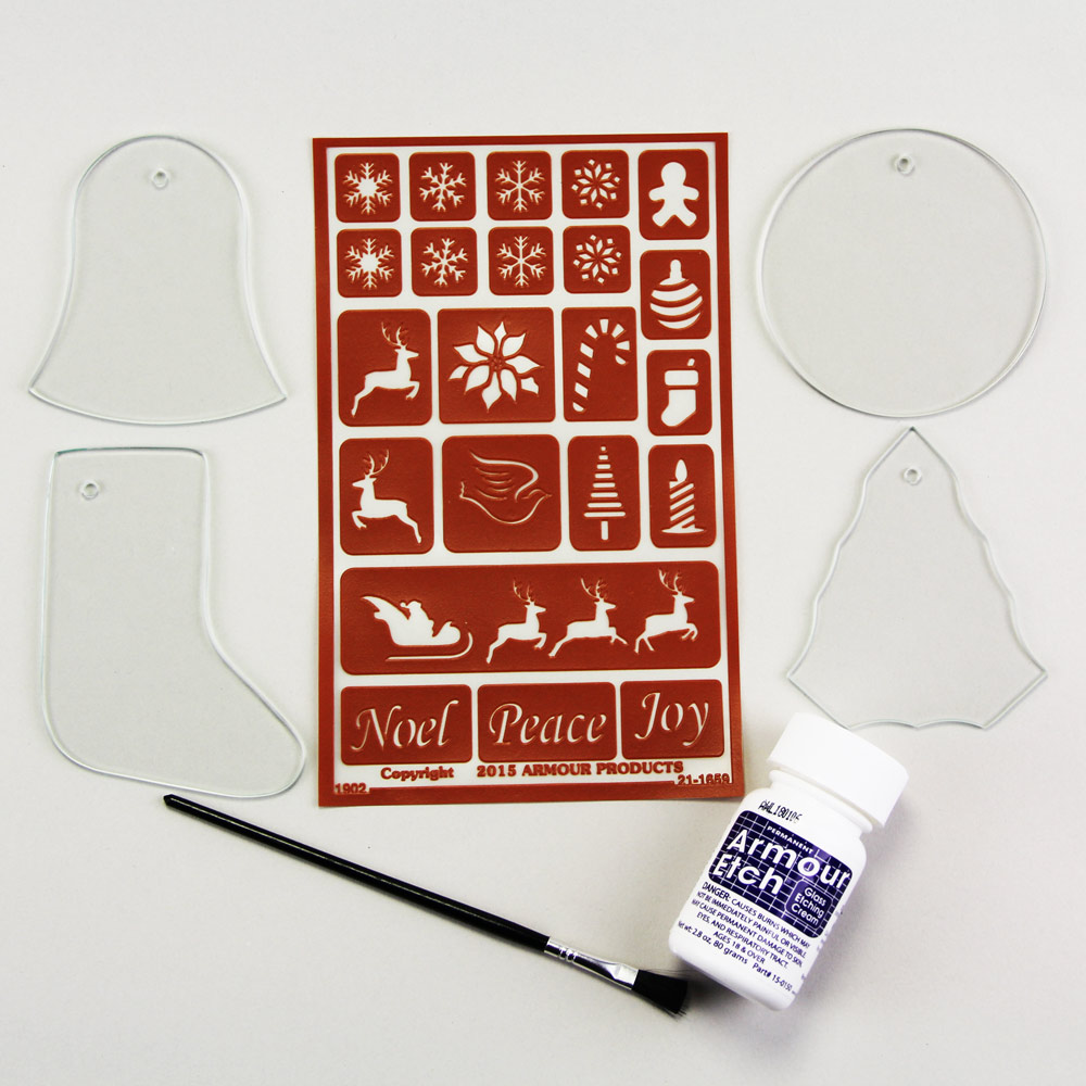 Ornament Assortment B Etch Kit