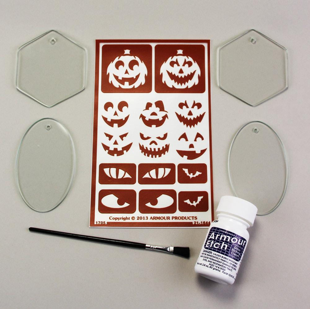 Halloween Etch Kit